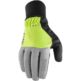 Cube X NF Winter Long Finger Gloves, grey/yellow